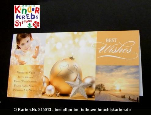 Spenden Weihnachtskarten