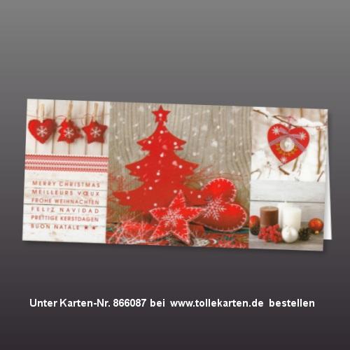 Stimmungsvolle Weihnachtskarten